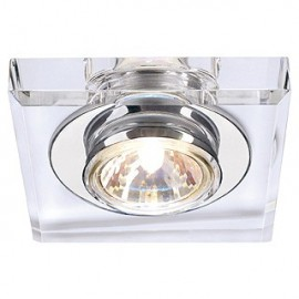 Plafon Crystal I downlight. MR16. 50 W